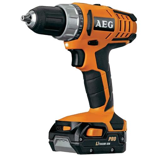 AEG 14.4V Cordless Hammer Drill Kit