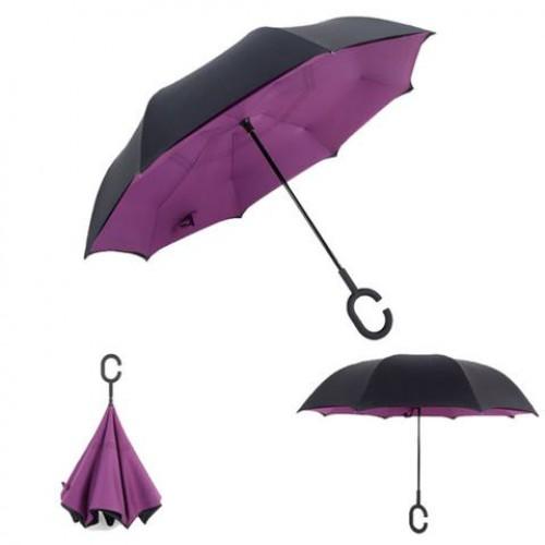 Upside Down C-Hook Inverted Umbrella