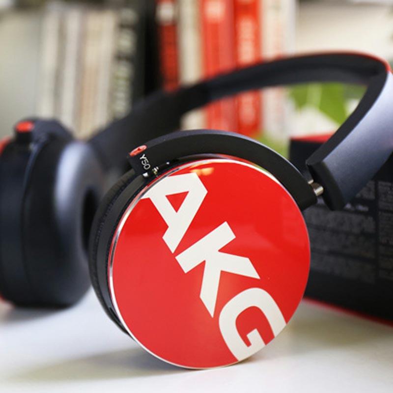 AKG Y50 Foldable On-Ear Headphones