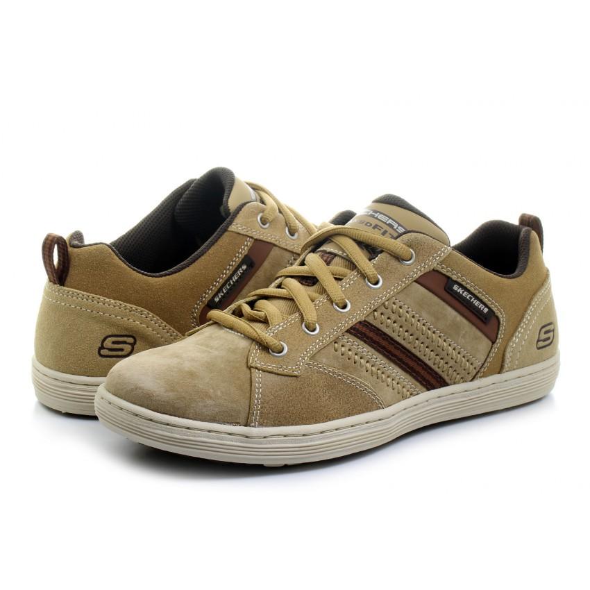 Skechers Men's Sorino Evole Lace-Up Sneaker