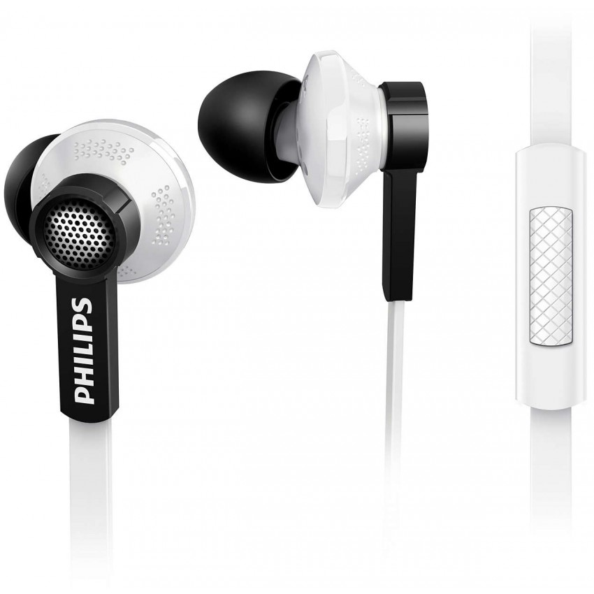 Philips Noise-Isolating In-Ear Headphones with Built-in Microphone