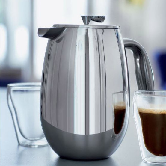 Bodum 8 Cup Columbia Double Wall Stainless Steel French Press