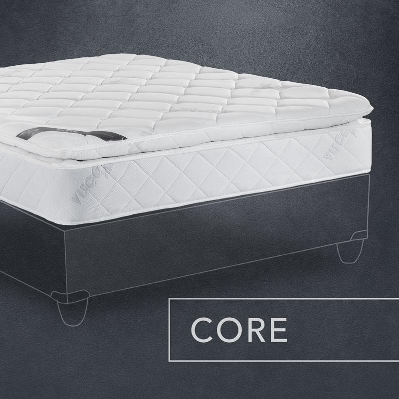Visco Pedic Core Comfort Mattress