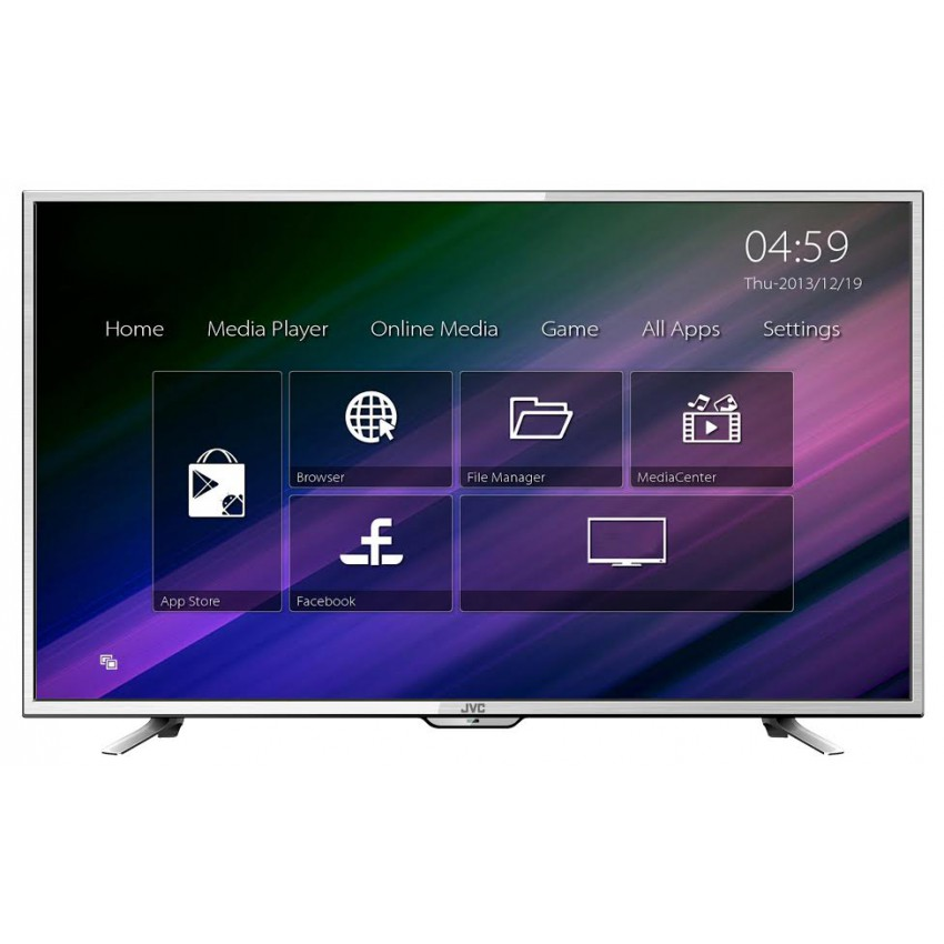 JVC 43'' FHD LED Smart TV with Integrated Wi-Fi (Android 4.4)