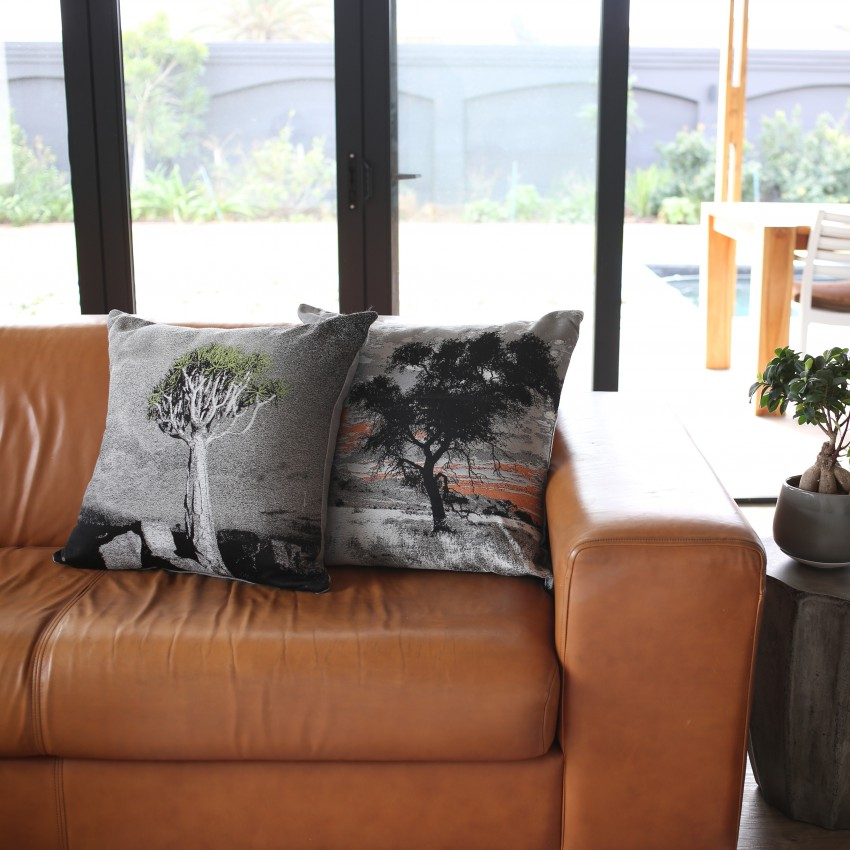 Sheraton Hougaard Malan Photographic Embroidered 60 x 60 cm Scatter Cushion with Feather Inner