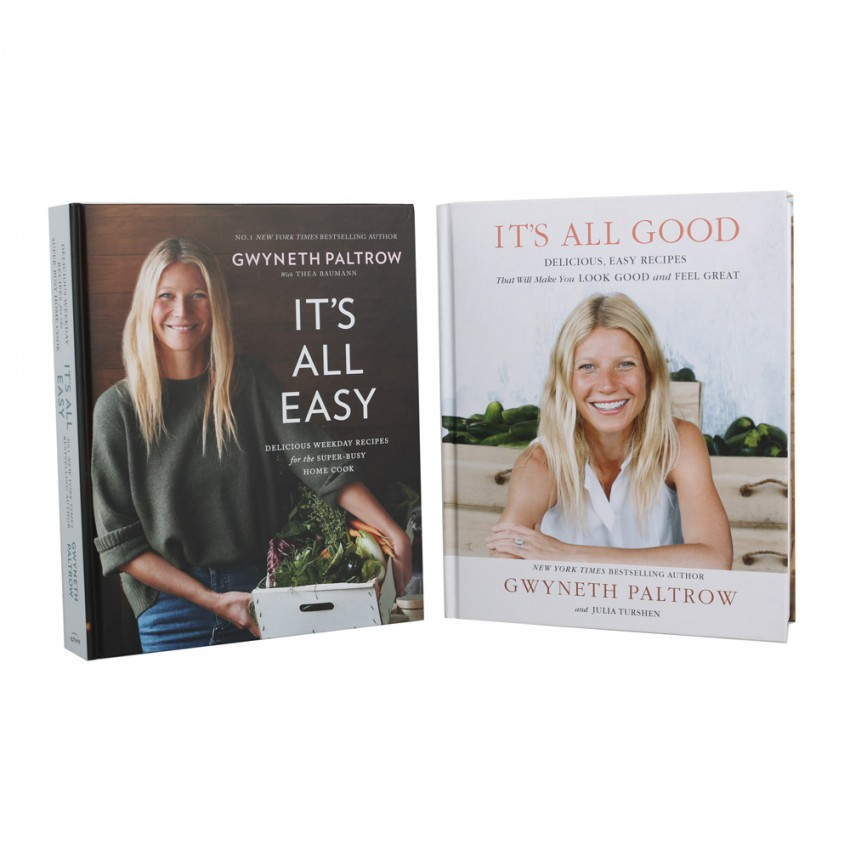 Gwyneth Paltrow Pack of 2 Cook Books