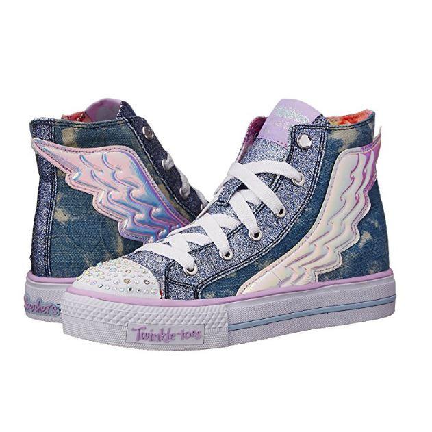Skechers Girls Shuffles-K Sneakers
