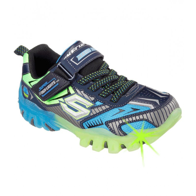 Skechers Boys Street Lightz Fast Lane Sneakers