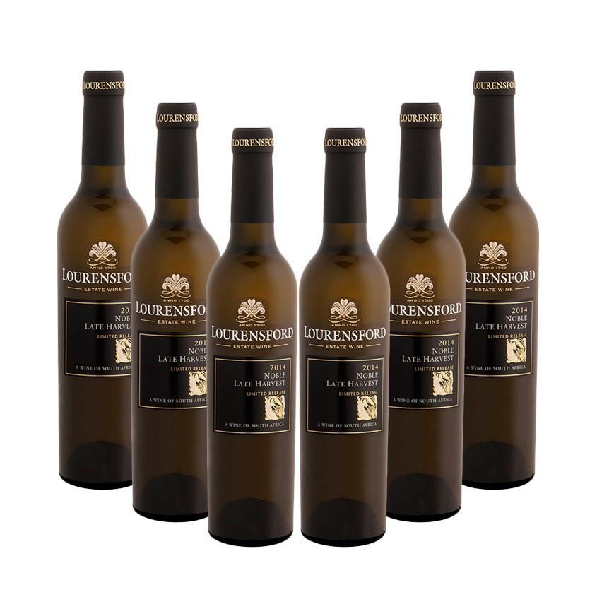 Lourensford Case of Limited Release Noble Late Harvest 2014 (R112 per Bottle, 6 x 375ml Bottles)