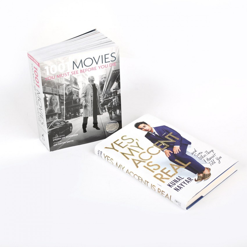 Screen Fan 1001 Movies You Must See Before You Die and the Funny Memoirs of Kunal Nayar- the super funny guy from Big Bang Theory! (2 Books)