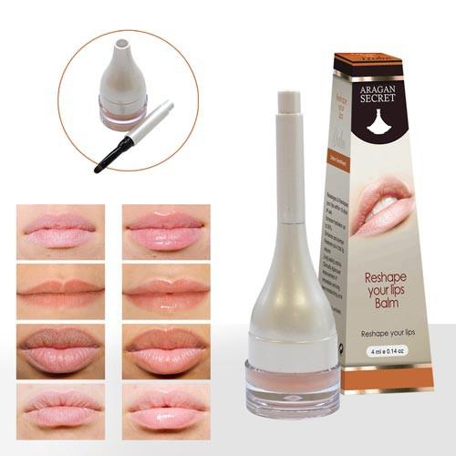 Argan Secret Pack of 2 Reshaping Lip Balms