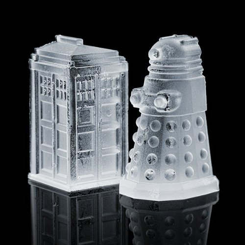 Doctor Who Tardis Ice and Chocolate Moulds