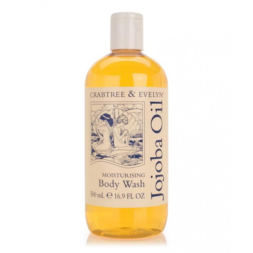 Crabtree & Evelyn 500ml Jojoba Oil Shower Gel