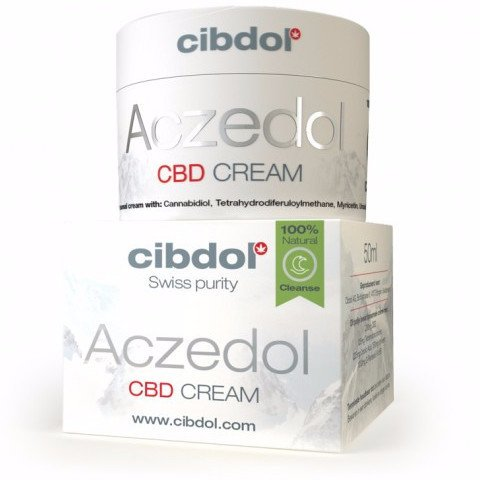 Cibdol Aczedol CBD Acne Cream
