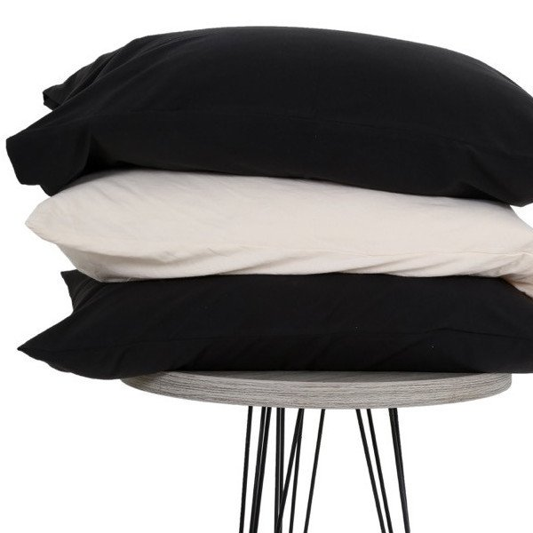 The T-Shirt Bed Co. Jersey Knit Standard or King Pillow Case Sets