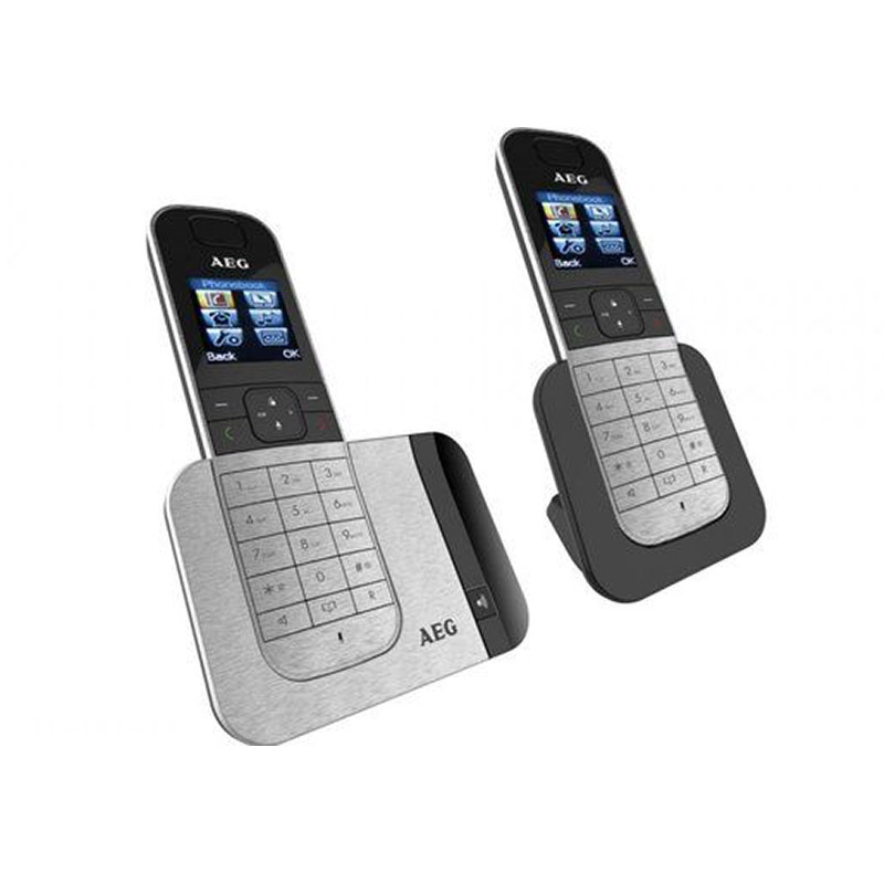 AEG Voxtel D575 Series Cordless Twin Phones with Answering Machine