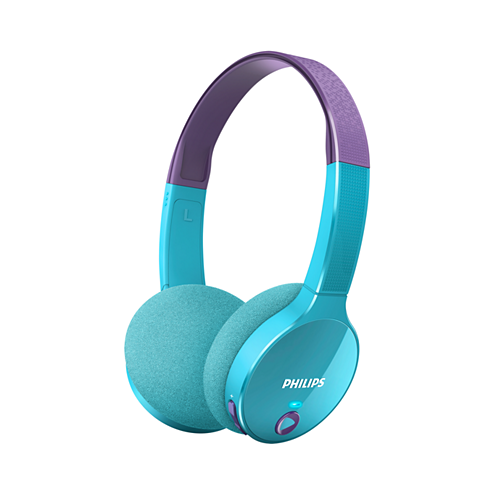 Philips Kids' Wireless Bluetooth Volume-Limiting Headphones (More Colours Available)