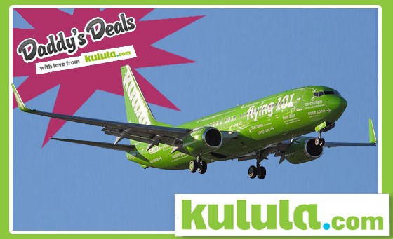 Fly high with kulula.com: Pay R125 and get R250 off any kulula flight, to any domestic destination, at any time – valid until 30th April 2012