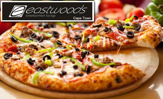 Get 59% off 2 delicious large pizzas AND 2 Lindt chocolate brownies at Eastwoods in Tyger Valley – only R99