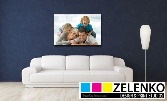 Create lasting memories with Zelenko: Get an A1 canvas print and R150 voucher towards next A1 canvas print – just R299 (value R800)