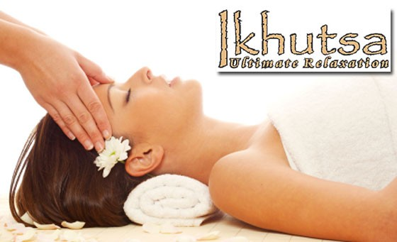 Luxury pampering session at Ikhutsa Spa: an Indian Head Massage, foot cleansing ritual, full body massage and more – just R299 (value R720)