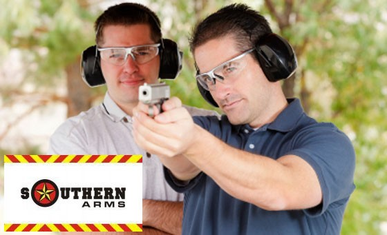 Awesome Fathers Day gift! Enjoy a wild shooting experience with Southern Arms in Sandton – for only R299 get 50 rounds with 4 different weapons plus bonus (value R1100)