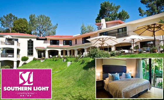 Exclusive, 4-star getaway at the lavish Southern Light Country House in Constantia: R999 for a 2 night stay for 2 incl breakfast (value R2400)