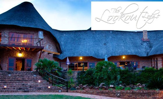 Spectacular bushveld experience at The Lookout Lodge: for only R499 enjoy a one night stay for 2 people incl breakfast AND a 90-min game drive for 2 (value R1230)