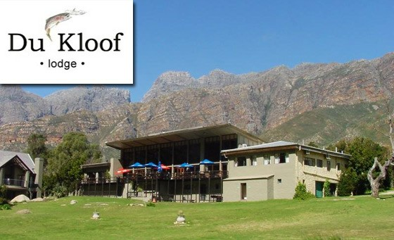 Escape the mad rush of city living to the tranquility of Du Kloof Lodge: one night stay for 2 people incl breakfast – just R299 (value R700)