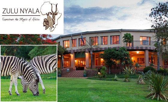 Ultimate Safari getaway for 2 at Zulu Nyala: Heritage Safari Lodge – for only R699 enjoy a wildlife experience incl breakfast plus a 3-hour game drive for 2 and a bonus (save 84%)