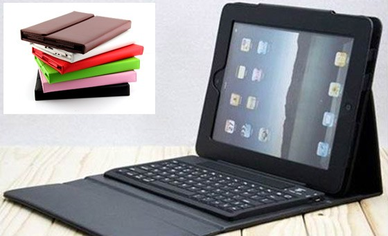 Accessorise your iPad 2/3 with an awesome Wireless Bluetooth Keyboard and protective case for only R499. Includes delivery (value R1299)