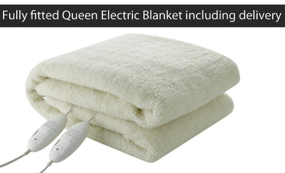 Sleep easy this winter with a luxurious, comfortable and warm, fully-fitted Queen Electric blanket incl nationwide delivery and a 12 month guarantee – just R399 (value R659)