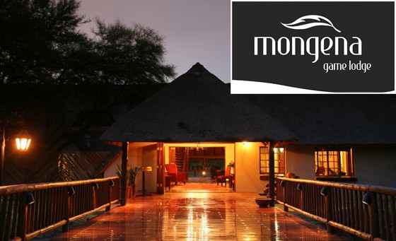 Romantic safari experience at the 4-star Mongena Game Lodge: for just R999 enjoy an exciting getaway, incl full English breakfast and full dinner plus game drive and more (value R2100)