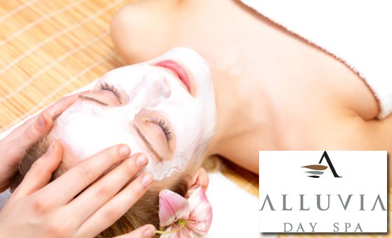 Relaxing half day spa session incl Hydravine facial, sauna, pools, sensation shower, body scrub PLUS bonus + more at Alluvia Day Spa, situated in Somerset West – only R195 (save 58%)