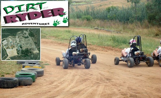Fun for the whole family with Dirt Ryders: go crazy with eleven go-kart laps, lunch + BONUS vouchers and lots more for just R149 (value R370)