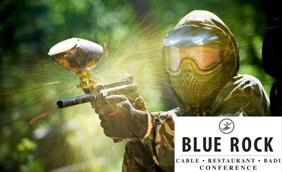 It's holiday time! Get the kids moving with a 2-hour paintball game, including protective mask, 100 paintballs, swimming, rock jumping and volleyball at Blue Rock for just R55pp (Value R110)