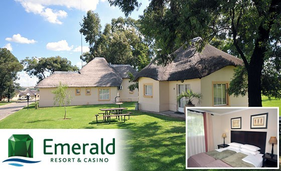Everyone wins at Vaal River Emerald Resort and Casino. 1night for 2 adults, 2 kids + Passport to Leisure at this fun-filled family retreat. Just R649 (value R1395)