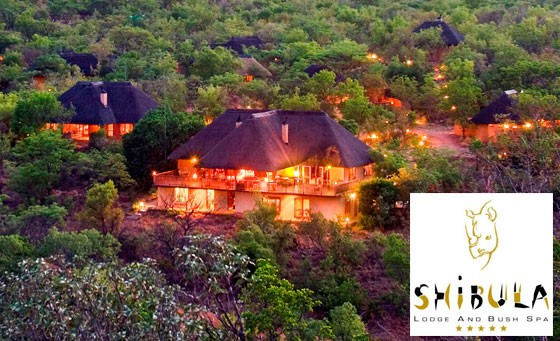 Five-star Shibula Lodge! Incredible value: TWO nights for 2 incl all meals and Big 5 game drives. Malaria Free. Only R4,799 (value R9,600). 3 hours from JHB