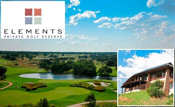 Luxury, 4-star, self-catering accommodation at the stunning Game of Life: Elements Private Golf Reserve. For only R2999 get a 2 night stay for 2-8ppl incl golf bonus (value R6000)