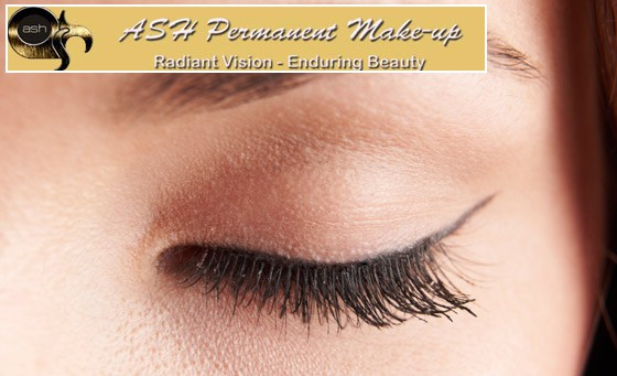 Permanent make-up is great for looking good 24/7. For just R249 get a Permanent top OR bottom eyeliner application and bonus from Ash Permanent Make-up (value R1000 - save 75%)