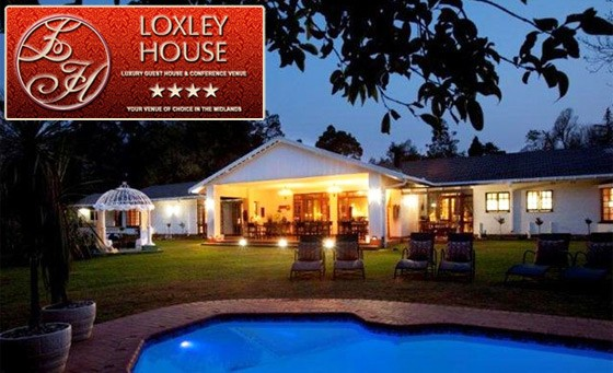 Escape to the KwaZulu-Natal Midlands at the 4-star Loxley House. R999 gets you a 2 night stay for 2 people, including breakfast daily, bonus voucher and more (value R2580 - save 61%)