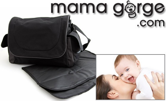 Get up and go with the unique and funky M.A.D bag, specifically designed for moms AND dads. For just R299 get one Mama Gorge Essential Baby Changing Bag, incl delivery and bonus (value R850)
