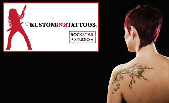 Get inked with Kustom Ink Tattoos: for only R249 receive a one-hour tattoo session including a full consultation plus a R200 bonus voucher off your next tattoo (value R1000)