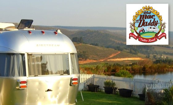 Only R399 for a super trendy Old Mac Daddy Luxury Trailer Park 1-night escape for 2 including Continental breakfast + bonus voucher. Situated in Elgin. Save a whopping 52%