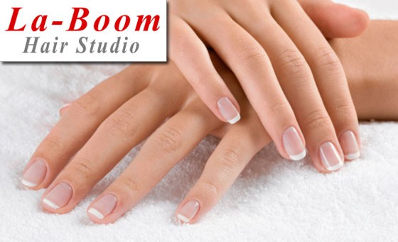 Get gorgeous, glamorous nails from La-Boom Hair Studio: for only R199 get a full set of acrylic nails PLUS a full pedicure and bonus (value R400). Situated in Bedfordview