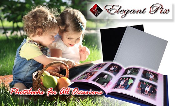 Give your memories a home with a beautiful, personalised 20pg A4 Hardcover Photobook from Elegant Pix & Foto First Game City. Only R239 includes delivery + bonus voucher (Value R649)