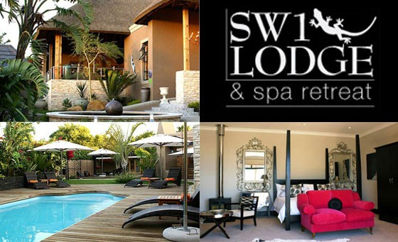 Romantic 5-star getaway at the beautiful SW1 Lodge & Spa Retreat: R499 gets you a stay for 2 people incl a Continental breakfast, bonus and more (save 75%)
