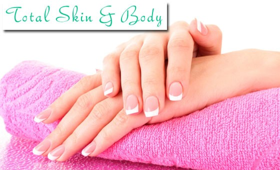 Save 63% on a full set of acrylic nails including a Hot Stone foot massage and soak plus fab bonus from Total Skin and Body in Morningside – just R149 (value R405)