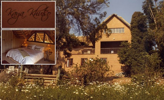 Escape to the magical Kaya Khutso Luxury Guest House for only R399. Get a stay for 2 people in a deluxe room -incl breakfast -plus a bonus towards a full body massage (value R1100 - save 64%)