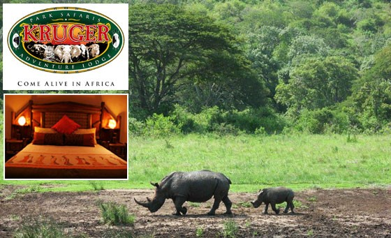 Safari getaway at the Kruger Adventure Lodge: 2 nights for 2 people incl breakfast & dinner for 2 daily plus fabulous bonus towards a game drive – just R999 (value R2840)